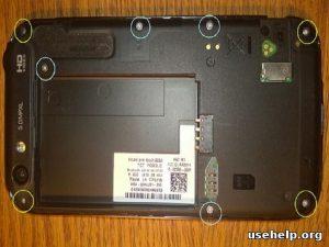 Разобрать Alcatel One Touch Ultra 995