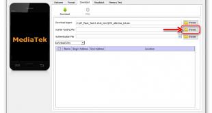 SP Flash Tool – программа для прошивки телефонов и планшетов на ОС Android с процессором MTK