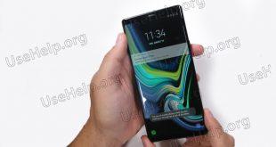 Разобрать Samsung Note 9