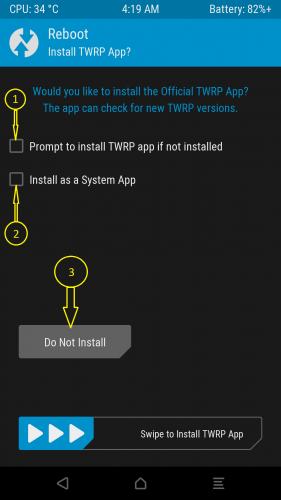 Установка TWRP на Meizu M2 Note