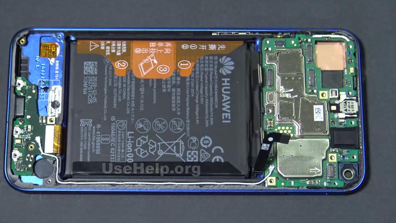 Разобрать Huawei Honor View 20