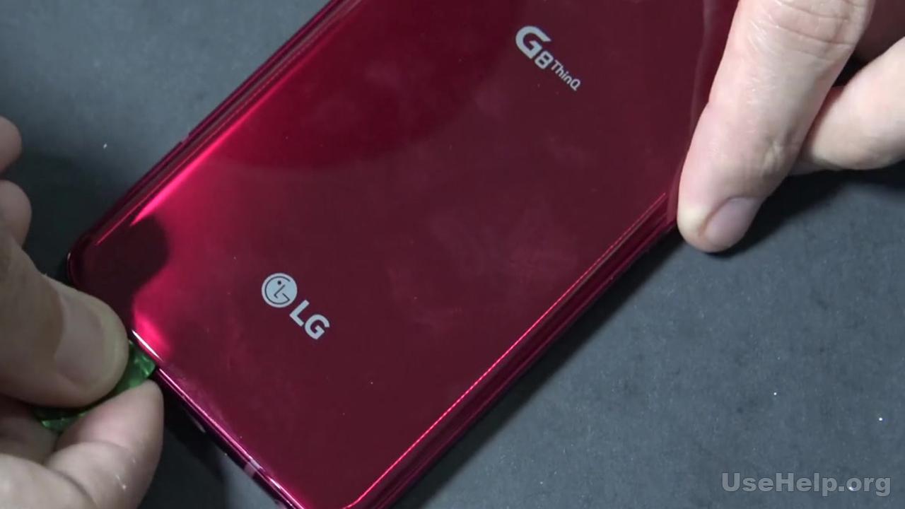 Разобрать LG G8 ThinQ