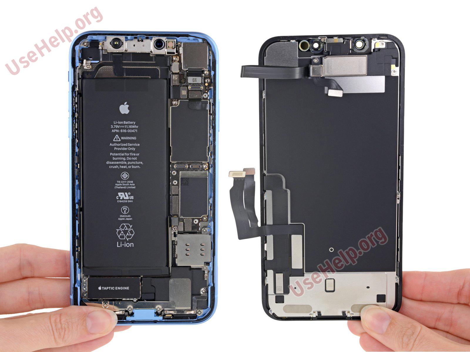 Разобрать Iphone XR