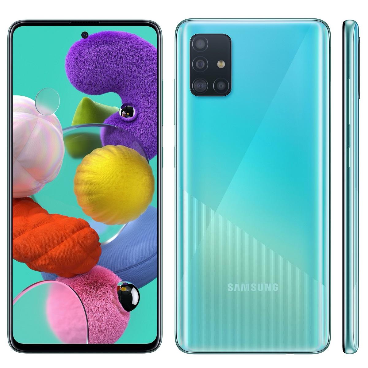 Официальная прошивка Samsung Galaxy A51