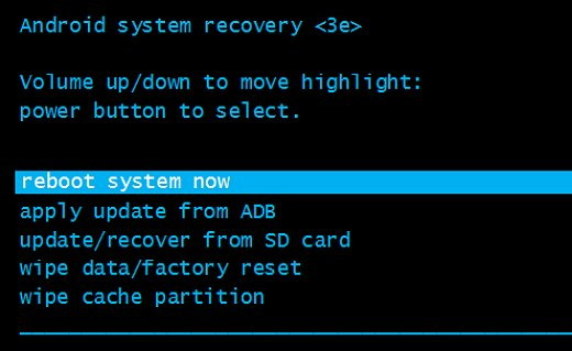 Hard Reset Acer Iconia One B1-850