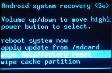 Hard Reset Acer Liquid Jade Z3