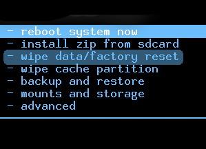 Hard Reset Acer Liquid Jade Zest Z525