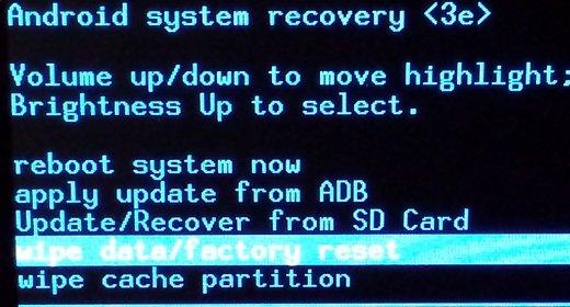 Hard Reset ASUS ZenPad 10 Z300CNG