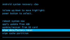 Hard Reset Asus ZenFone 4 Pro