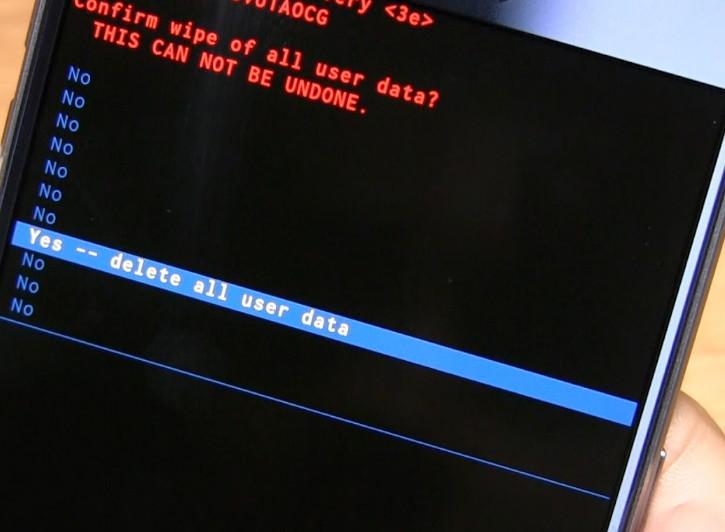 Hard Reset Asus Zenfone 2 ZE551ML