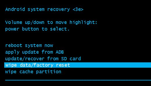 Hard Reset Highscreen Power Rage