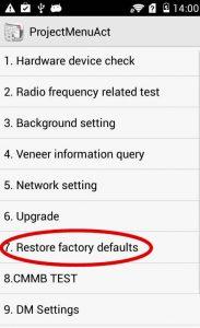 Hard Reset Huawei 8 Pro L09