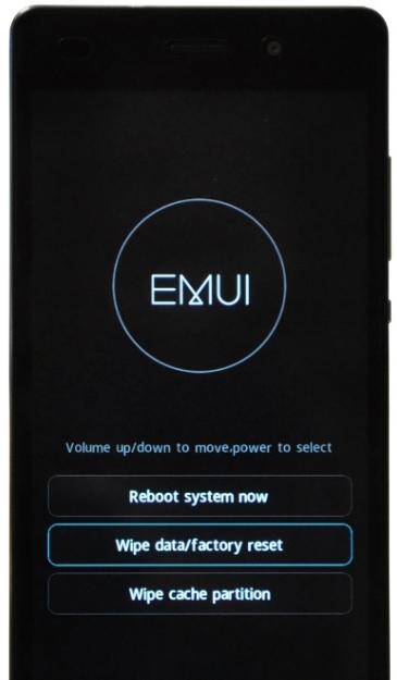 Hard Reset Huawei 8 Pro