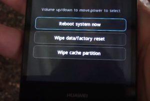 Hard Reset Huawei 8S
