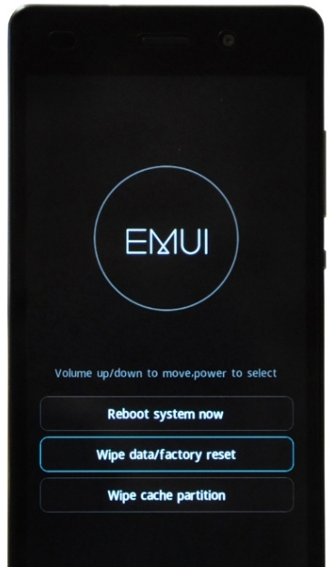 Hard Reset Huawei 8x