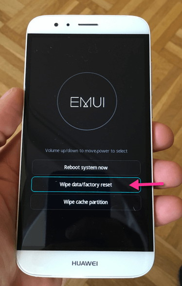 Hard Reset Huawei Enjoy 8e