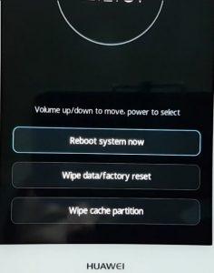 Hard Reset Huawei Honor 5C