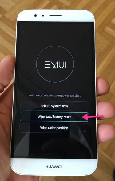Hard Reset Huawei Mate 30 Pro 5G