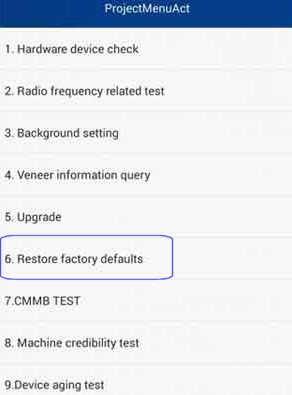 Hard Reset Huawei Mate SE