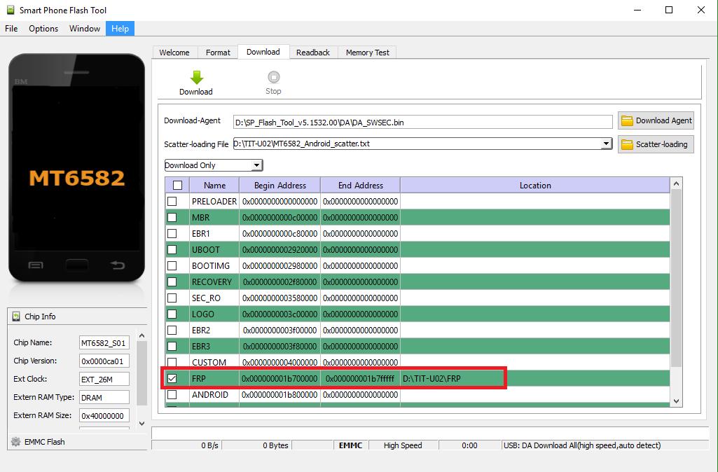 Способ обхода FRP на Huawei Y6 и Y6 Pro