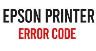 Коды ошибок Epson
