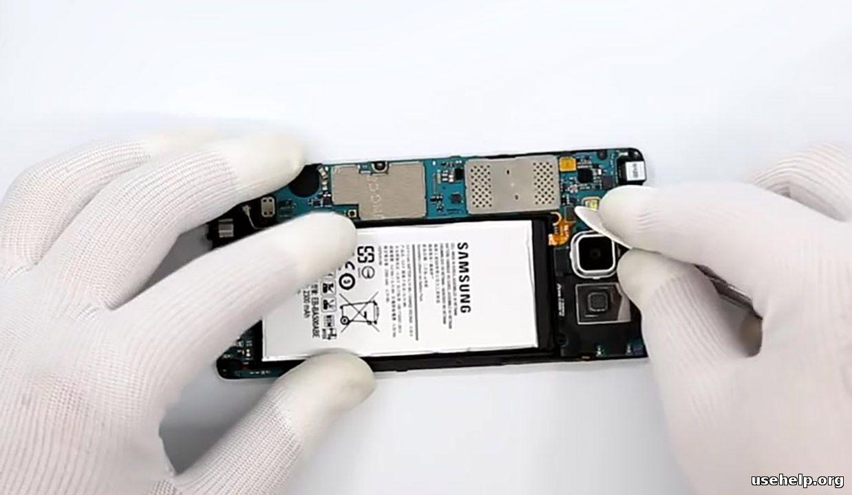 как разобрать Samsung Galaxy A5