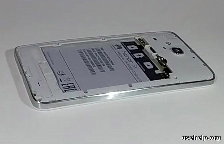 как разобрать Huawei Honor 3X G750