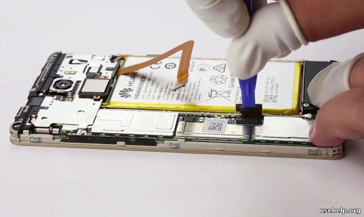 как разобрать Huawei Honor 7