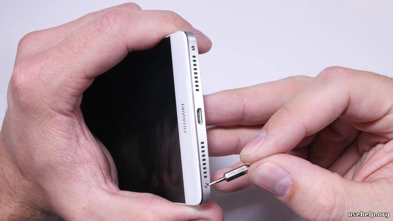 разобрать Huawei Ascend Mate 8