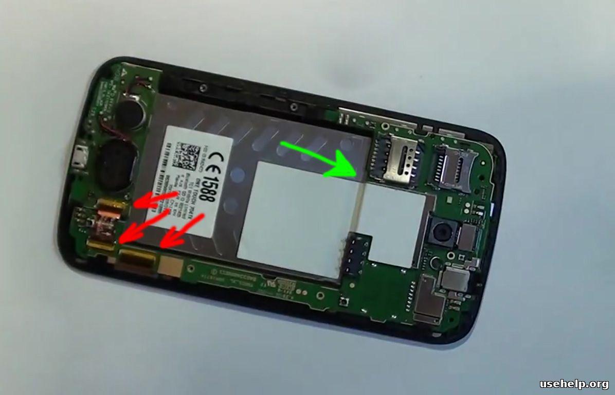 как разобрать Alcatel One Touch Pop C9
